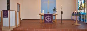 Kirche Möllbergen am 1. Advent 2013