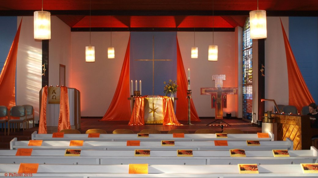Taizé-Gottesdienst Möllbergen 4/2015