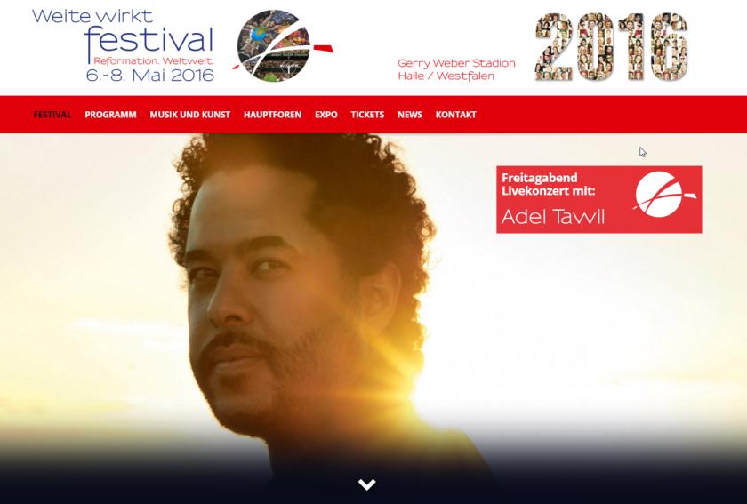 Weite Wirkt Festival _ Reformation. Weltweit. – Screenshot