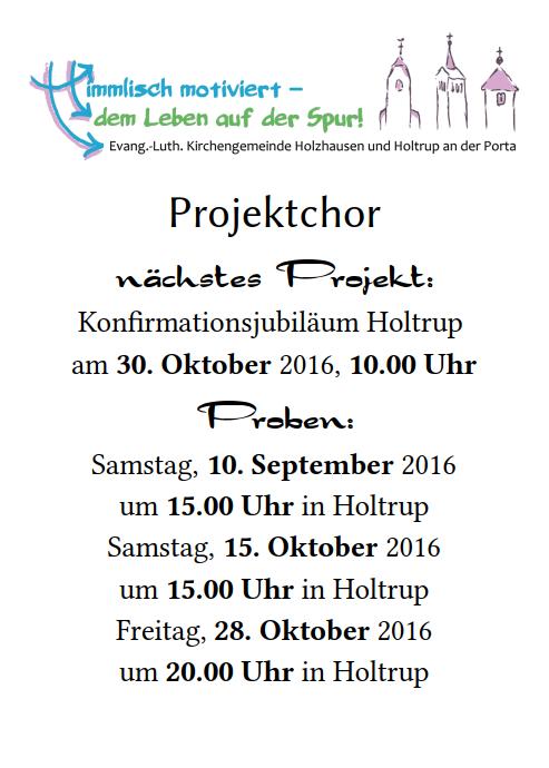 Termine_Projektchor_für_2016-10-30