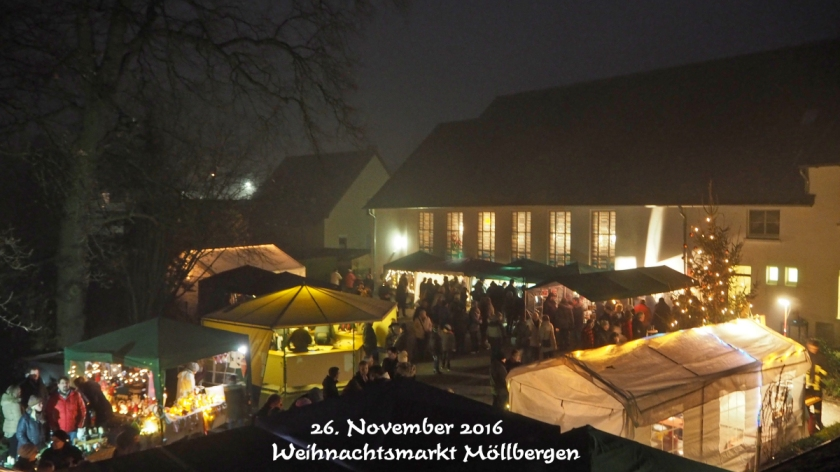 Weihnachtsmarkt Möllbergen 2016